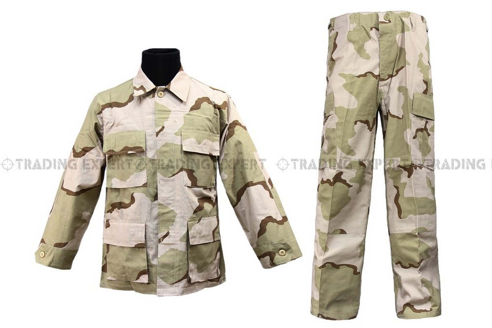 3e55f54f8ef Get Quotations · us army military uniform for men Army Suit Military  Clothing Sand Camo CL-01-