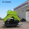 10tons excavator vibrating hydraulic plate compactor