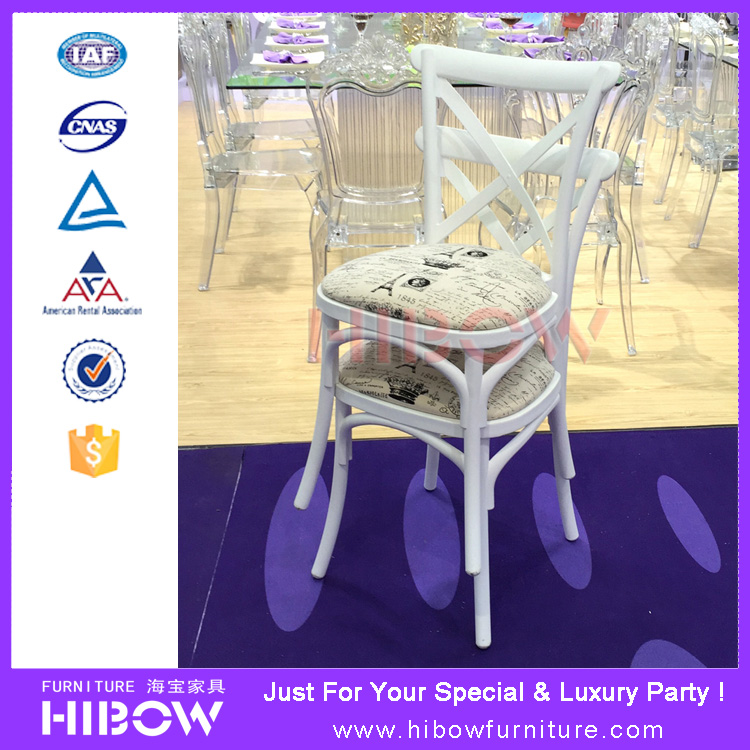 H011 Hibow Country garden PP/RESIN cross back chair H011