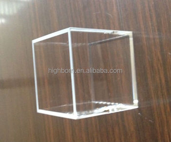 Cubic Quartz Glass Cuvette G204 - Buy Cuvette G204,Cubic Cuvettes,Quartz  Cuvette Product on Alibaba com