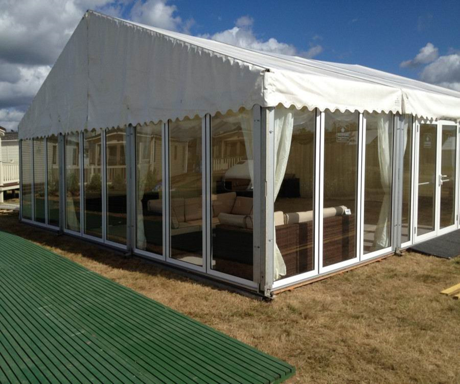 Transparent Glass Outdoor Event Party Beach Cheap Wedding ...
