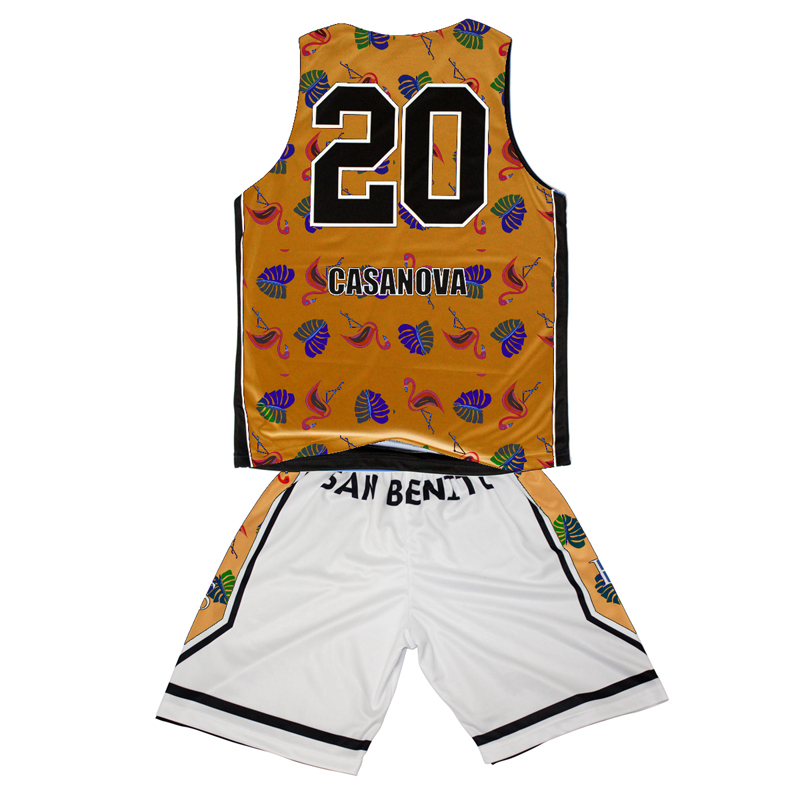 Approved manufacturer high quality elastane basketball jersey uniform