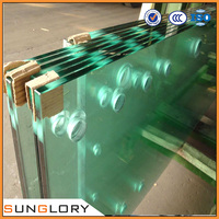 Tempered Door Glass Plate