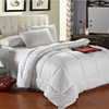 100%cotton fabric microfiber filling white quilt comforter duvet