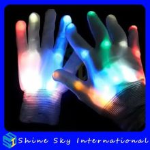 Fashion Best Selling Wedding Decoration Led Flashing Gloves