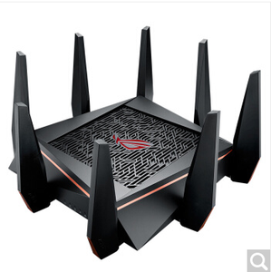 original ROG AC5300 WiFi Tri-band Gigabit Wireless Router with 4x4 MU-MIMO, 8x LAN Ports, AiMesh Whole Home WiFi (GT-AC5300)