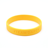 New Design Best Price Promotion Custom Silicone Wristbands /bracelet / Wrist Band Advertising Silicon Band
