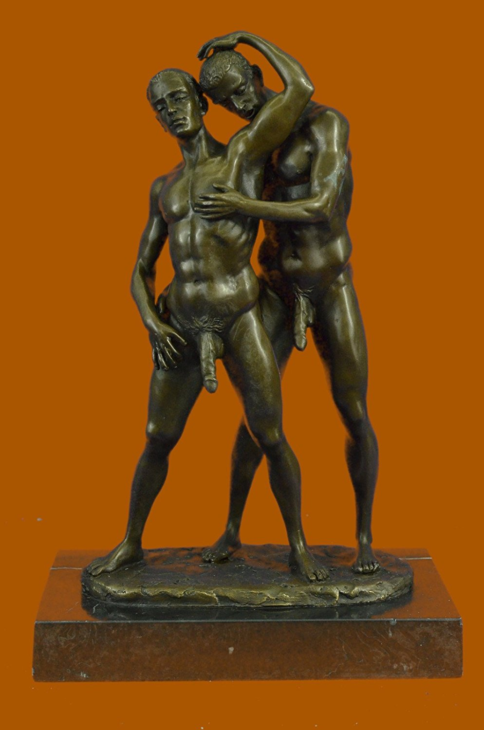 Erotic gay figurines
