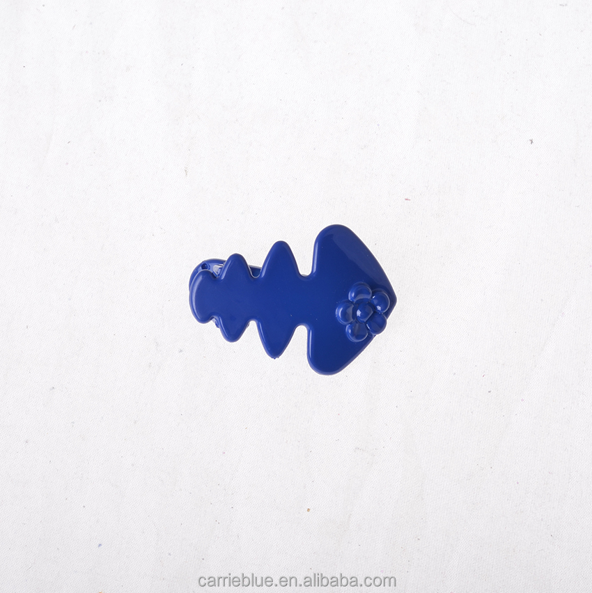 Goody color fish oem hair accessories wholesale hair barrette for girls kids hair