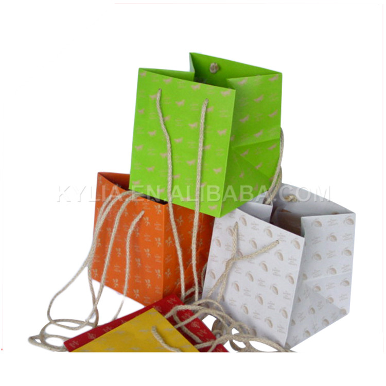 Factory wholesale printed paper fresh flower packing pot bag