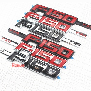 Fit for Ford F150 FX4 Emblem Sticker Car Fender ABS Badge Decal