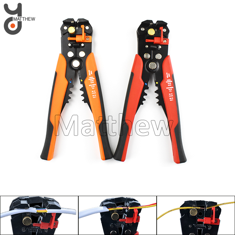 Automatic Wire Striping Crimping Plier With Cutting Function