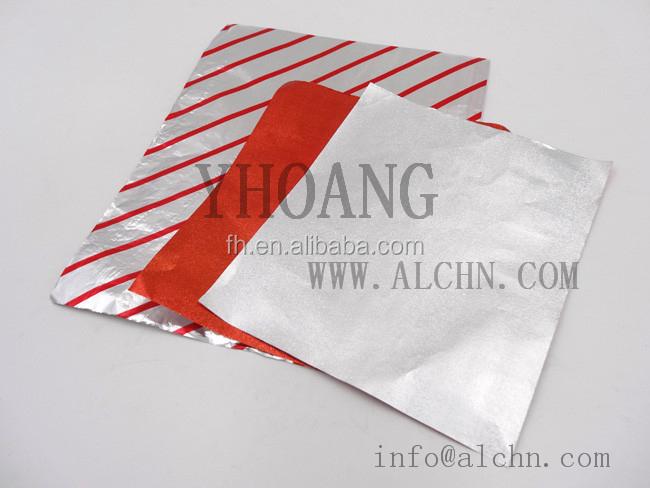 Sandwich Burger Wrap Aluminum Foil Sheet,Food Grade Aluminum Foil ...