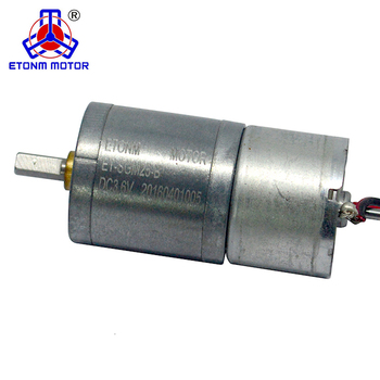 25mm 6v dc gear motor DC high torque electric Valve gearbox motors