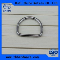 316 /304 Stainless steel welded d ring