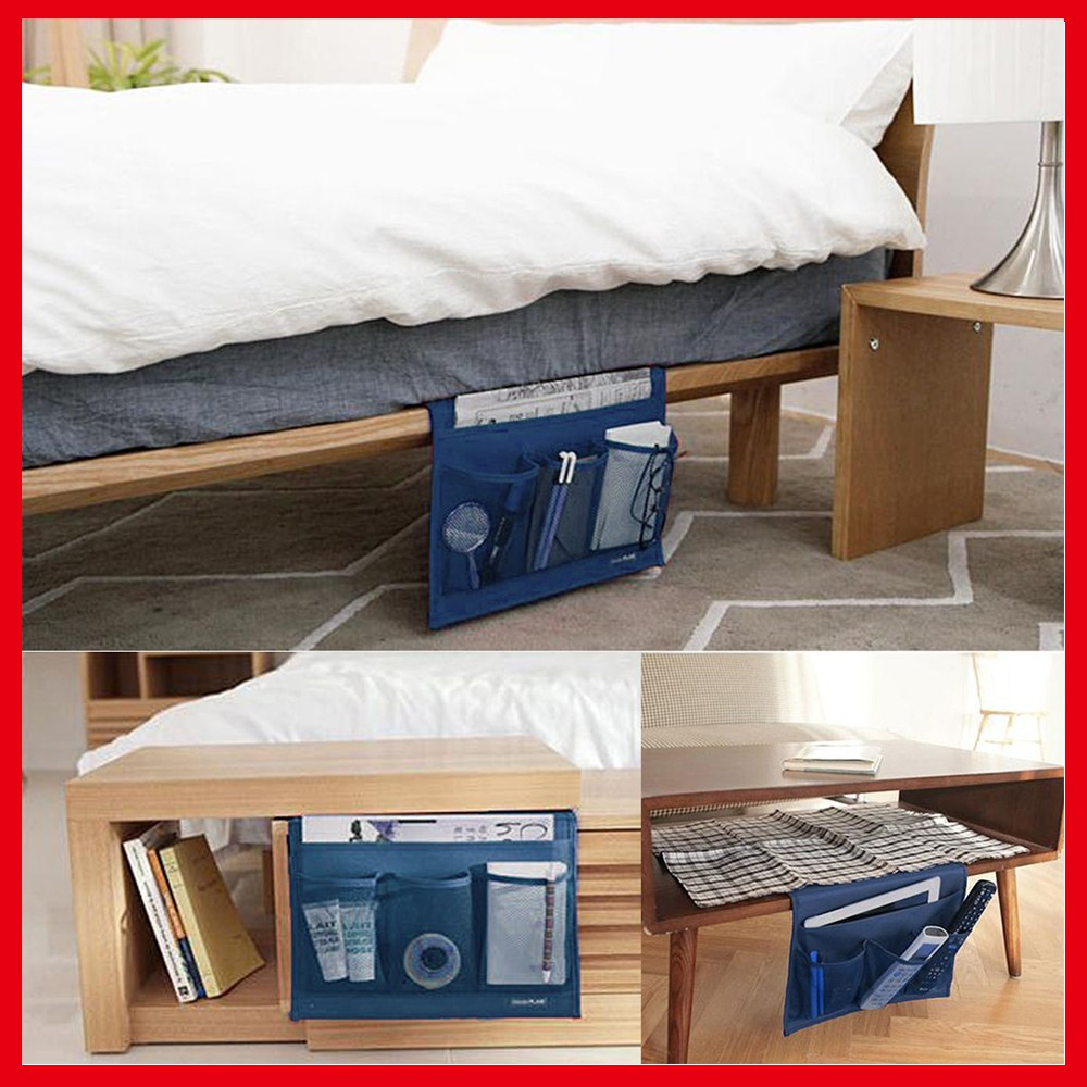 Remote Controller Holder Organizer Bag Table Cabinet Magazine Book Caddy