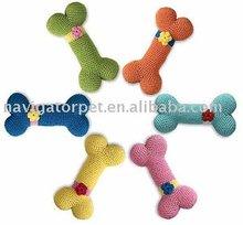 Bunte Und Attraktive Pet Häkeln Spielzeug Knochen Buy Product On