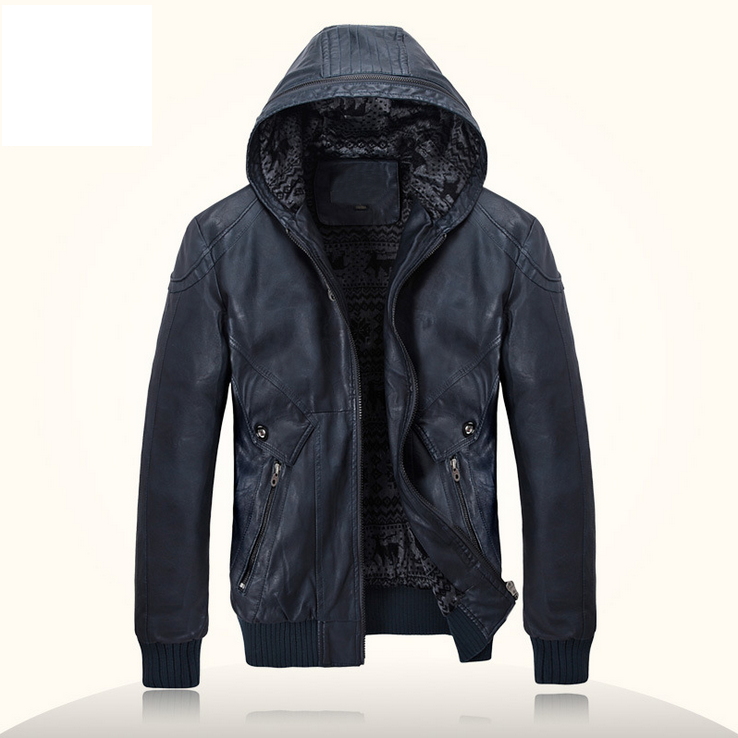wholesale Winter pu jacket with hood