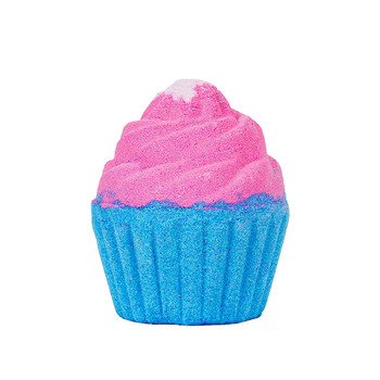 Handmade Custom Colorful Organic Natural Cup Cake Bath Bombs