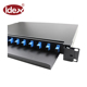 96 core rack mount odf Fiber Optic Patch Panel 96 port 1 U 19'' ODF with LC Connectors MPO patch cord