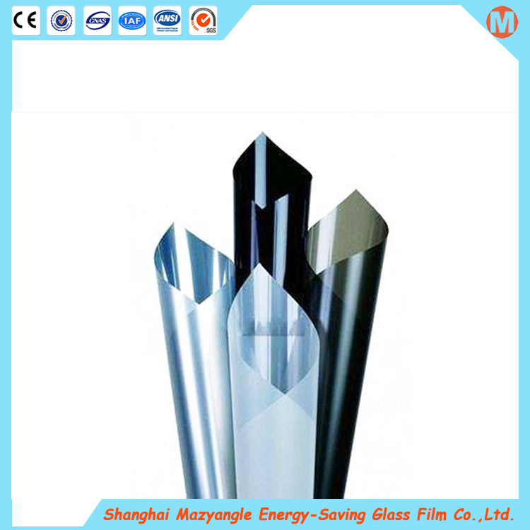 Customized color glass film safety window solar car film