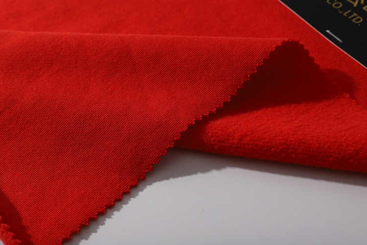 350gsm 100% cotton brushed french terry fabric for garment,sportswear