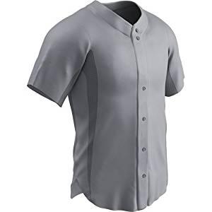 Get Quotations · CHAMPRO Men s Reliever Full Button Baseball Jersey d133d7616