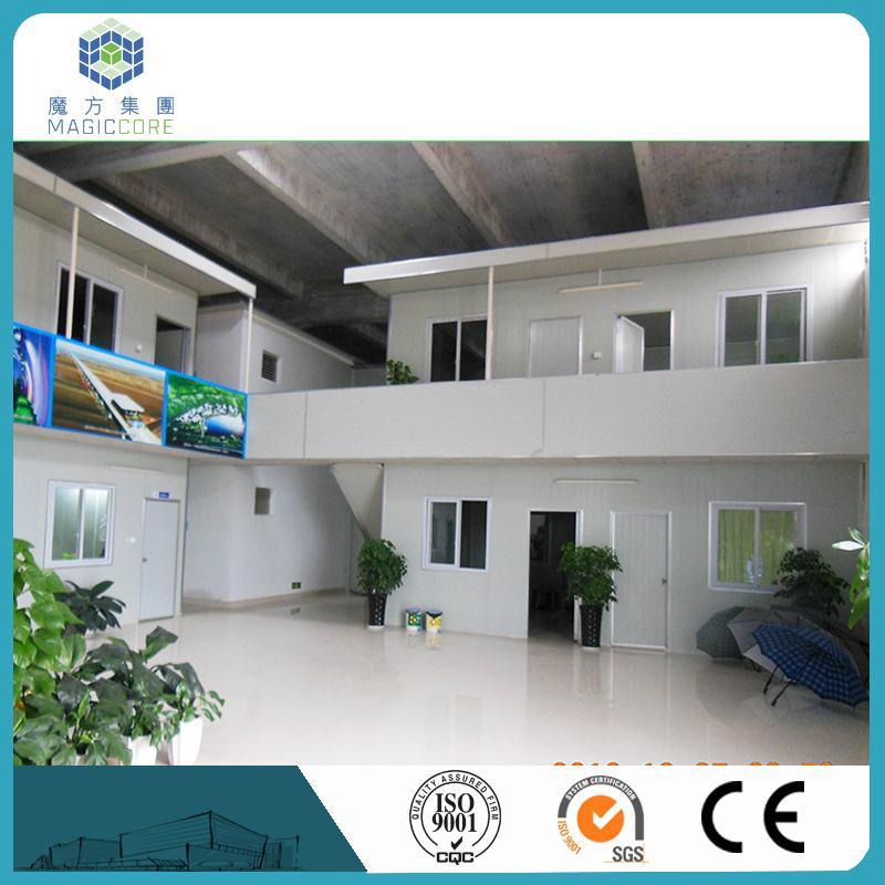 eco sorbos casa con estructura de acero de pared y techo de panel sndwich