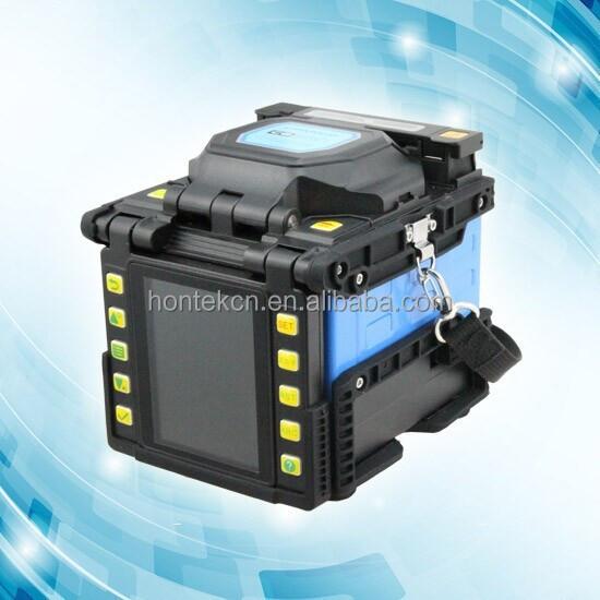 New Design Small Size Lightweight Core Alignment Ftth Fiber Optic Fusion Instrument Mfs T60 Splicer Single Fiber Fusion Splicer Dependable Performance Communication Equipments