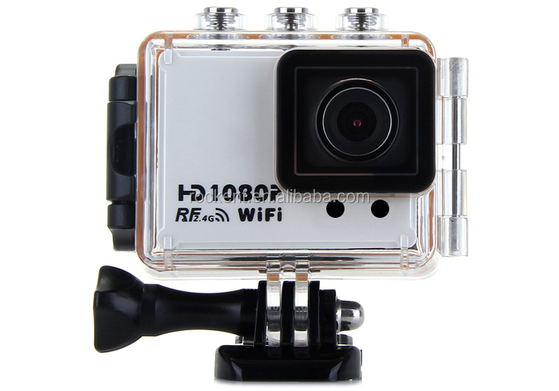 AT200 wifi sport camera Waterproof with Wrist Remote Contraller