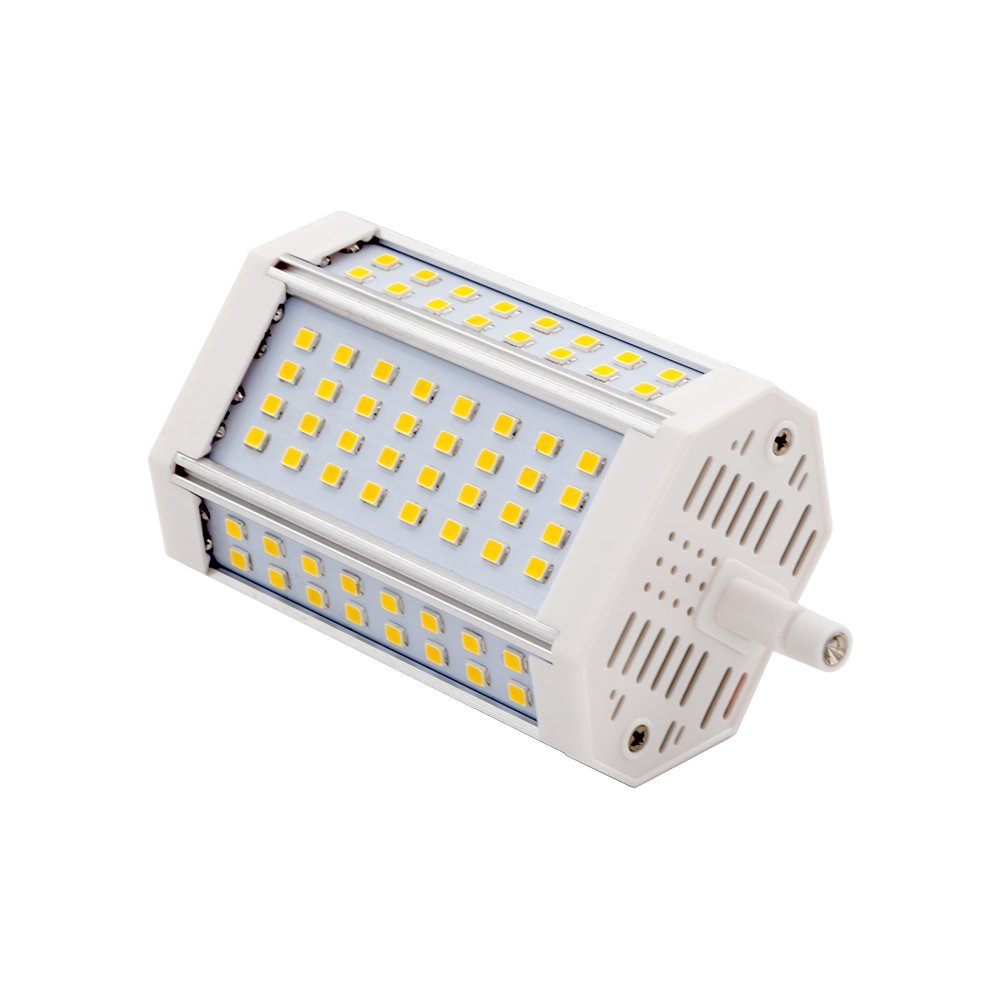 R7S 118mm Led Licht 30 w 270 graden R7S Lamp Vervangen 300 w Halogeen Lamp AC 85 v- 240 v LED Met Koelventilator