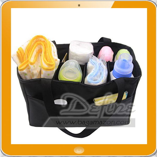 Insert Organizer for Diaper Bag Backpack with Handles