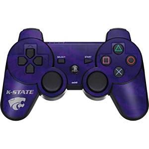 Kansas State University PS3 Dual Shock wireless controller Skin - Kansas State Wildcats Pattern Vinyl Decal Skin For Your PS3 Dual Shock wireless controller