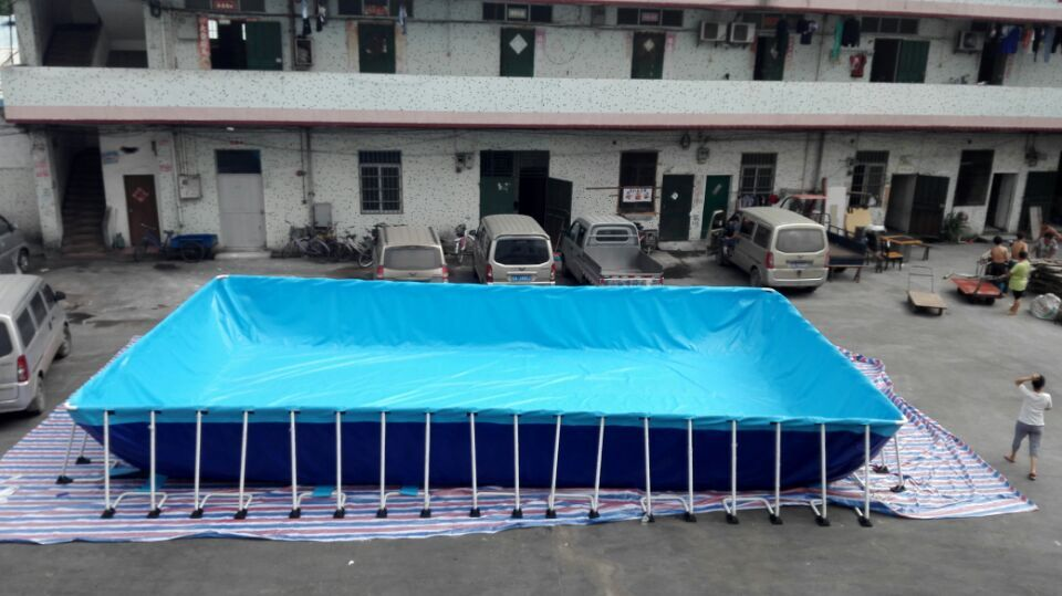 2017 New Design Rectangular Above Ground Swimming Pool