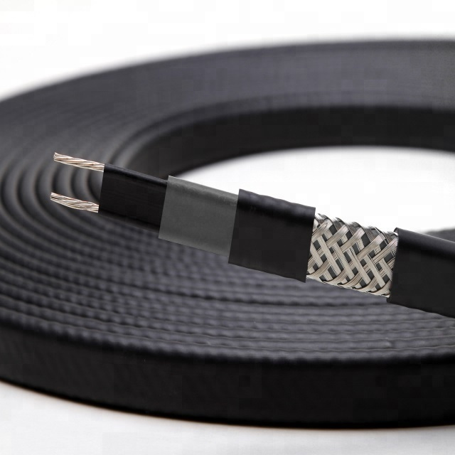 Electric constant temperature self regulating heat tracing cable