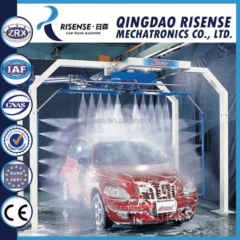 Two Arm Touch Free Automatic Car Wash Two Arm Touch Free Automatic