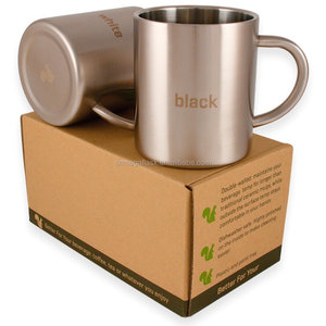 Avito Stainless Steel Double Wall Camping Coffee Mugs