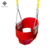 Dropship High back full bucket toddler swing seat with plastic coated chains patio baby swing