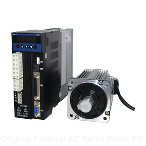 80M02430 and B2 driver AC servo motor with driver 0.75kw ac motor for industrial use