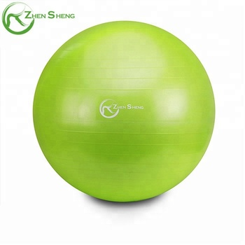 Zhensheng custom private logo eco friendly chair ball yoga