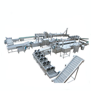 Industrial Automatic Semi-automatic Potato French Fries Equipment