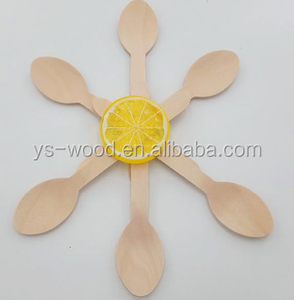 new design wooden spoon / Yogurt spoon / disposable wooden poon