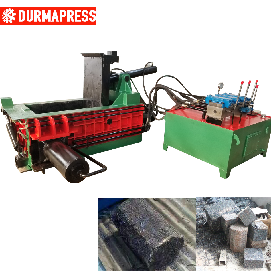 Y81-150 metal baling press aluminum extrusion baler waste aluminum can baler
