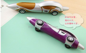 Kids fancy toy racing car shape ballpoint pen