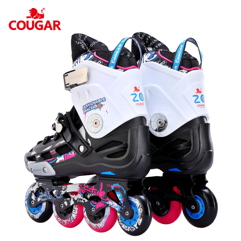 entrance Cougar slalom level skates sale shoes for inline professional roller AATW1F