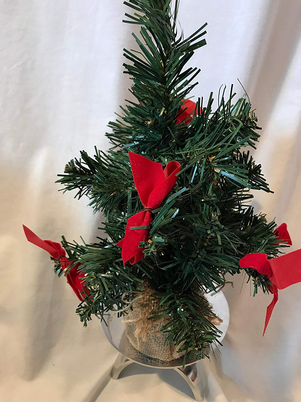 get quotations miniature christmas tree burlap ball christmas tree 12 mini christmas tree miniature