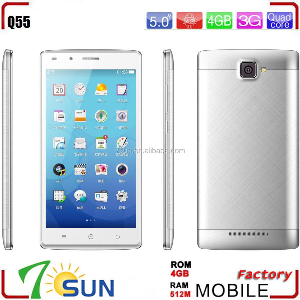 Phone Cheap Big Screen Android Phones guatemala celular q55 android 4 quadcore cheap big screen phone