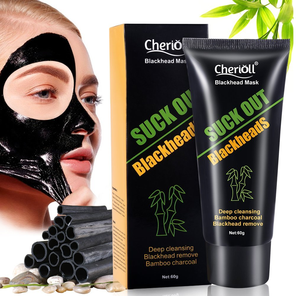 Charcoal Peel Off Mask, Black Mask, Peel Off Mask, Purifying Peel Off Blackhead Mask, Activated Natural Bamboo Charcoal Deep Cleansing Mask, Purifying Acne Oil-control Blackhead Mask