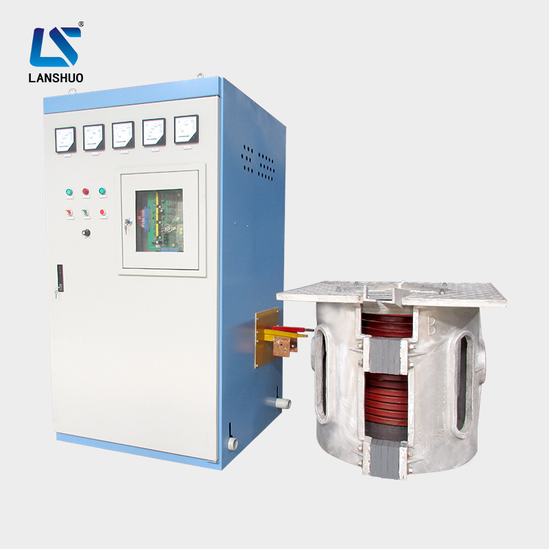 Lanshuo Medium Frequency automatic induction melting furnace for cast iron