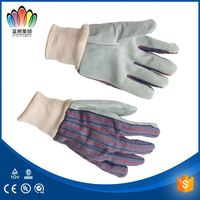 Cow grain leather golf glove